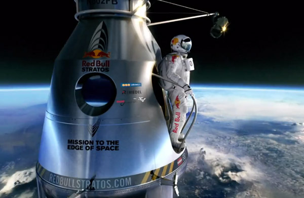 David Clark Brings Red Bull Suit to Discovery Weekend